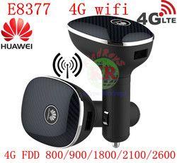 Dibuka 4G LTE CPE Mobil Wifi Router Huawei Carfi E8377 FDD Semua Band LTE Hotspot Dongle 4G LTE cat5 Mobil Modem Wifi PK E5172 B593