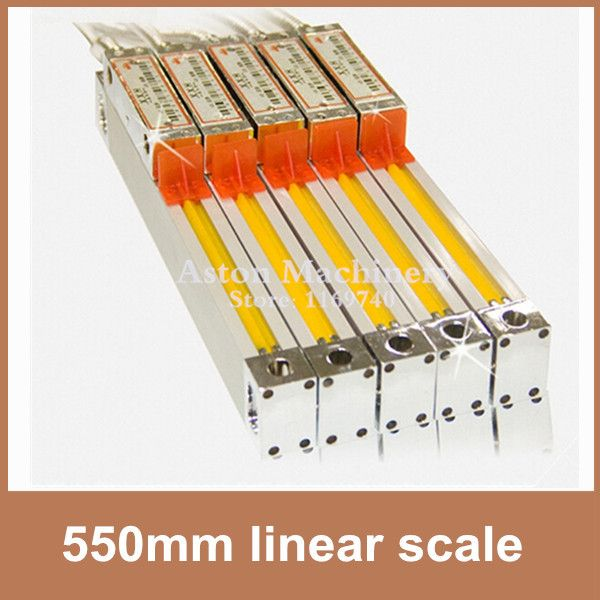 Free Shipping High Accuracy linear scale encoder 0.005mm / 0.0002