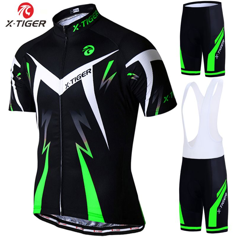 X-Tiger 2018 Pro Summer Cycling Jersey Set Mountain Bike Clothing MTB <font><b>Bicycle</b></font> Clothes Wear Maillot Ropa Ciclismo Men Cycling Set