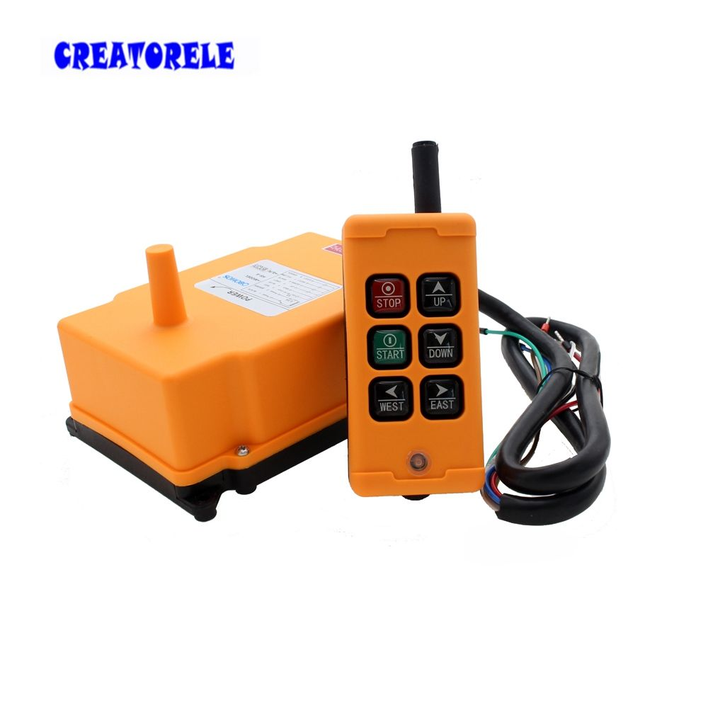 New Arrivals crane <font><b>industrial</b></font> remote control HS-6 wireless transmitter push button switch China