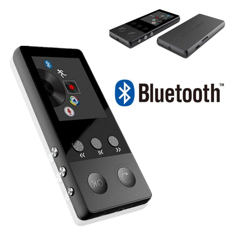 Neue Metall Bluetooth MP3 Player Portable Audio 8 gb mit Eingebauter Lautsprecher FM Radio APE Flac Musik Player