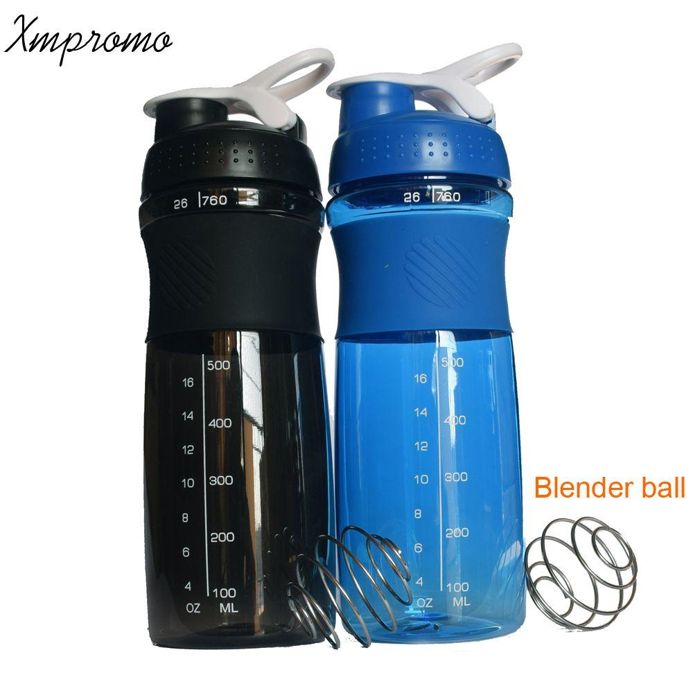 760 мл спортивные Белка Шейкер Blender молоко смеситель бутылку воды bpa бесплатно Фитнес тренажерный зал мои бутылки воды Велосипедный Спорт на ...