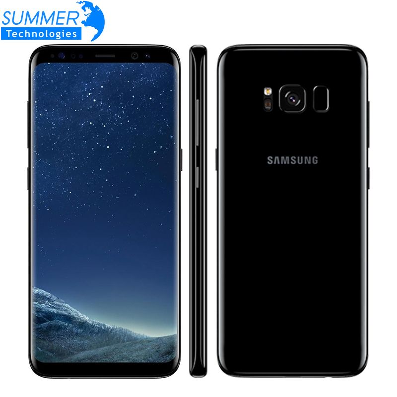 Original Samsung Galaxy S8 4g LTE Handy Octa core 4 gb RAM 64 gb ROM 5,8 zoll 12MP fingerprint Smartphone