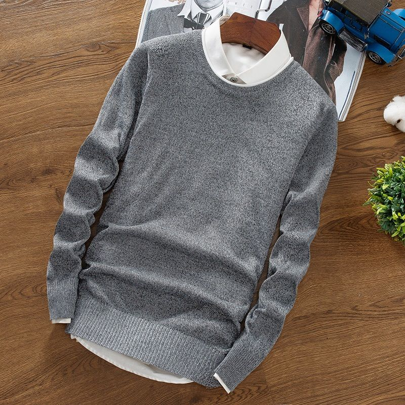 2018 New Sweater Men's Long Sleeve Slim Men's Sweater YA15
