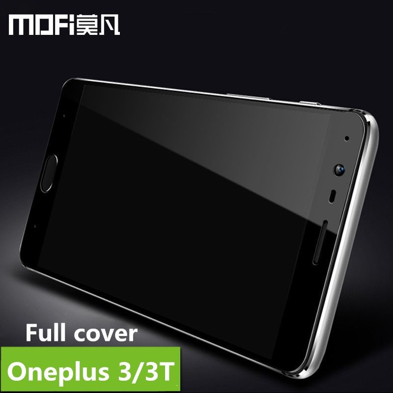 oneplus 3t glass tempered oneplus 3 screen protective full cover protective safety film MOFi one plus 3 3t tempered glass