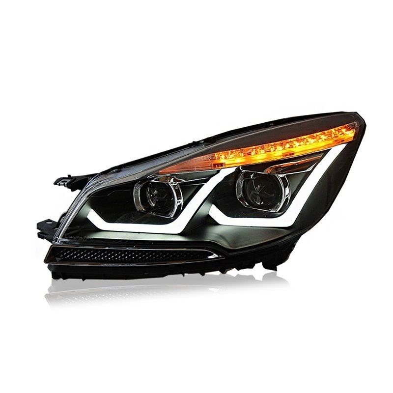 Turn Signal Daytime Running Lamp Lights Assembly Cob Drl Luces Led Para Auto Assessoires Car Lighting Headlights For Ford Kuga