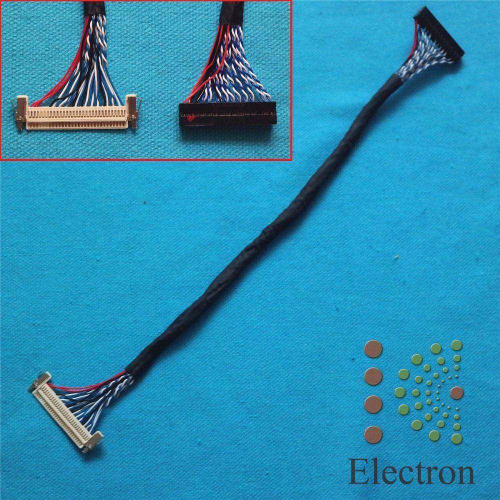 FIX-30-S8 Universal LVDS Kabel FIX 30Pin 2ch 8 bit w/schloss für 17 ''-26'' LCD-Controller Panel Monitor