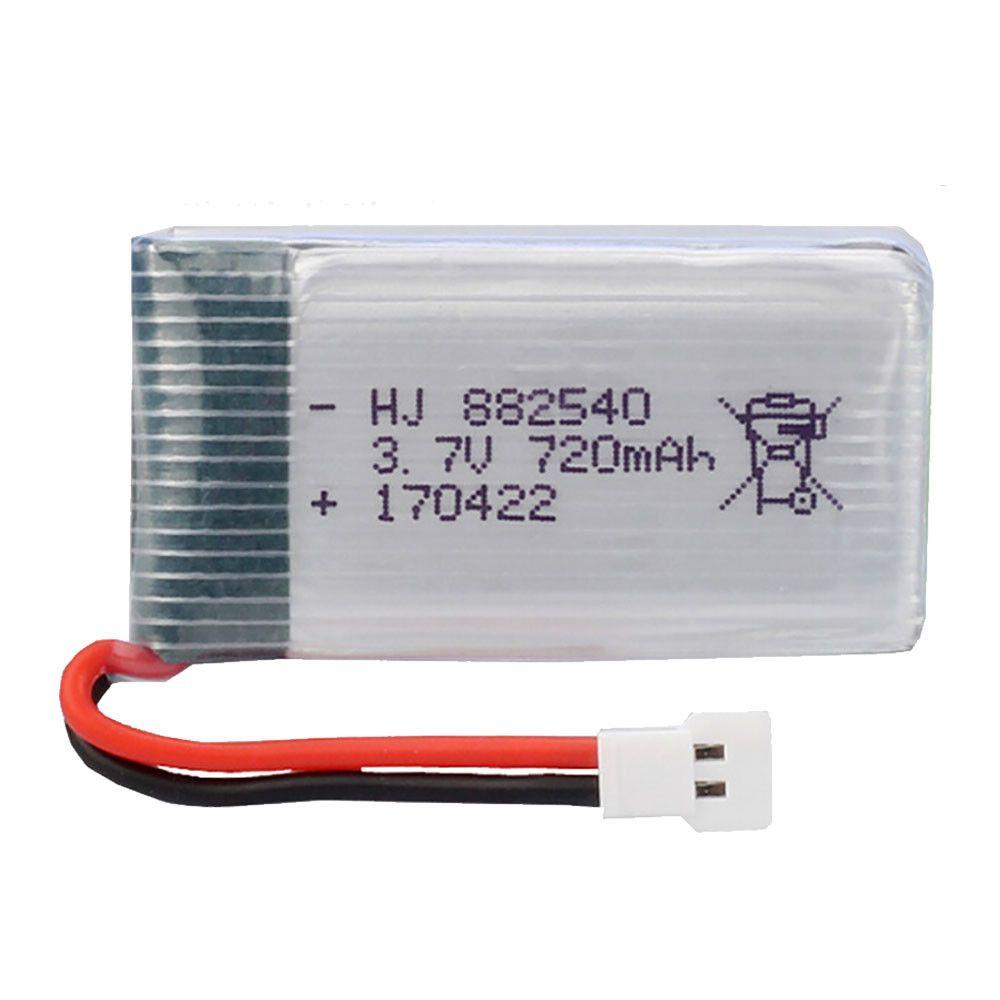 2 STÜCKE 3,7 V 720 mAh Lipo Batterie Teile für Syma X5 X5C H5C X5SC X5A Cheerson CX-30 WLtoys F949 Skytech M68 RC Quadcopter Drone