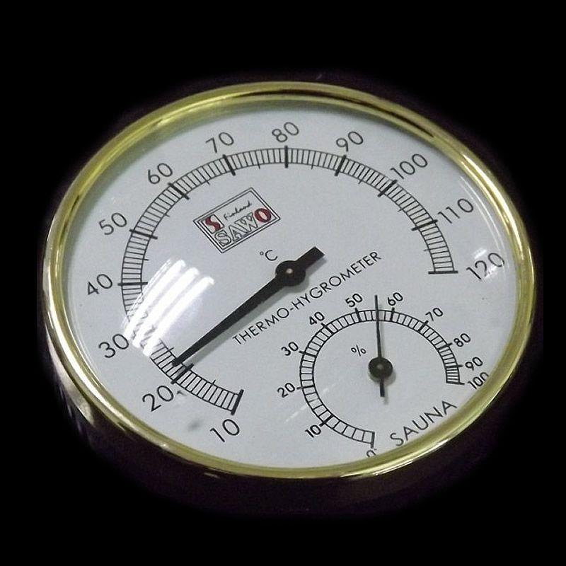 Сауна Аксессуары Из Нержавеющей Стали И Пластика Температура И Влажность Термометр