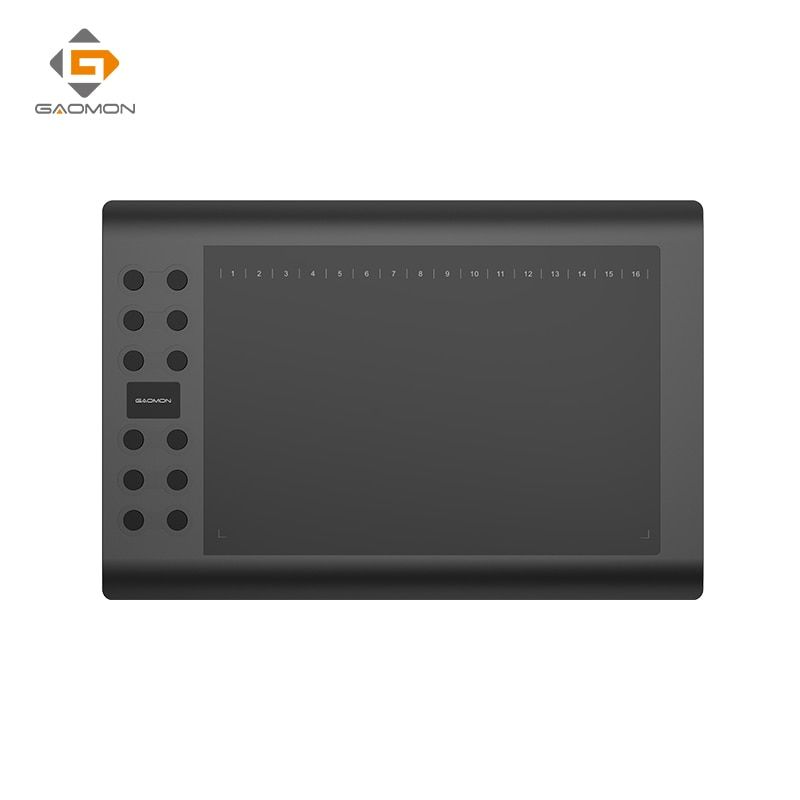 Professional Graphics <font><b>Tablet</b></font> for Drawing GAOMON M106K 10x6 inches USB Pen <font><b>Tablets</b></font> Art Digital