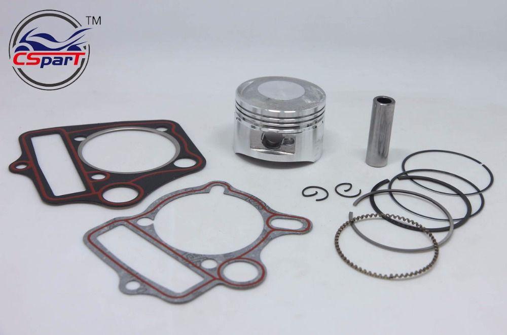 54MM 14MM Piston Rings Gasket Kit 125CC 138CC 1P54FMI Lifan ZongShen Kaya Xmotos Apollo orion Loncin kids Dirt Pit Bikes Parts