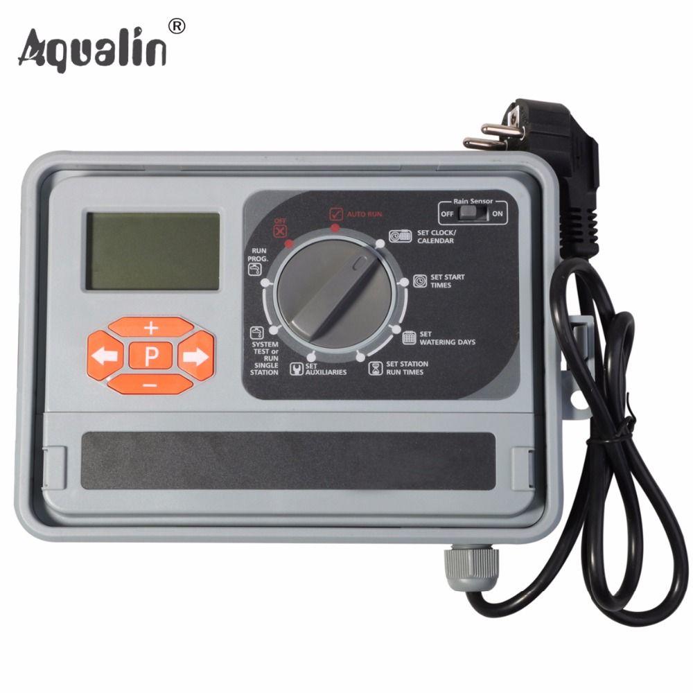 11 станции сад контроллер автоматического полива воды таймер полива Системы с ЕС стандарт Внутренний трансформатор #10469