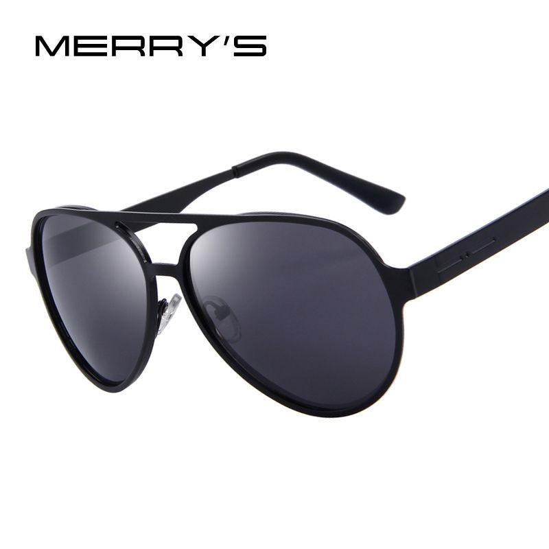 MERRY'S Women Eyewear Male Alloy Frame Oval Mirror Lens Luxury UV400 Oculos de sol