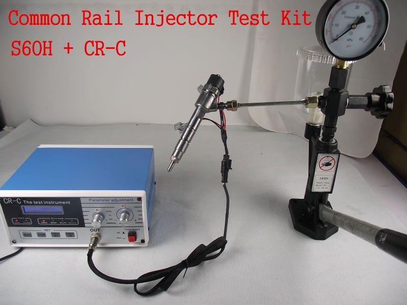 Combination!CR-C multifunction diesel common rail injector tester + S60H Nozzle Validator,Common rail Injector tester tool