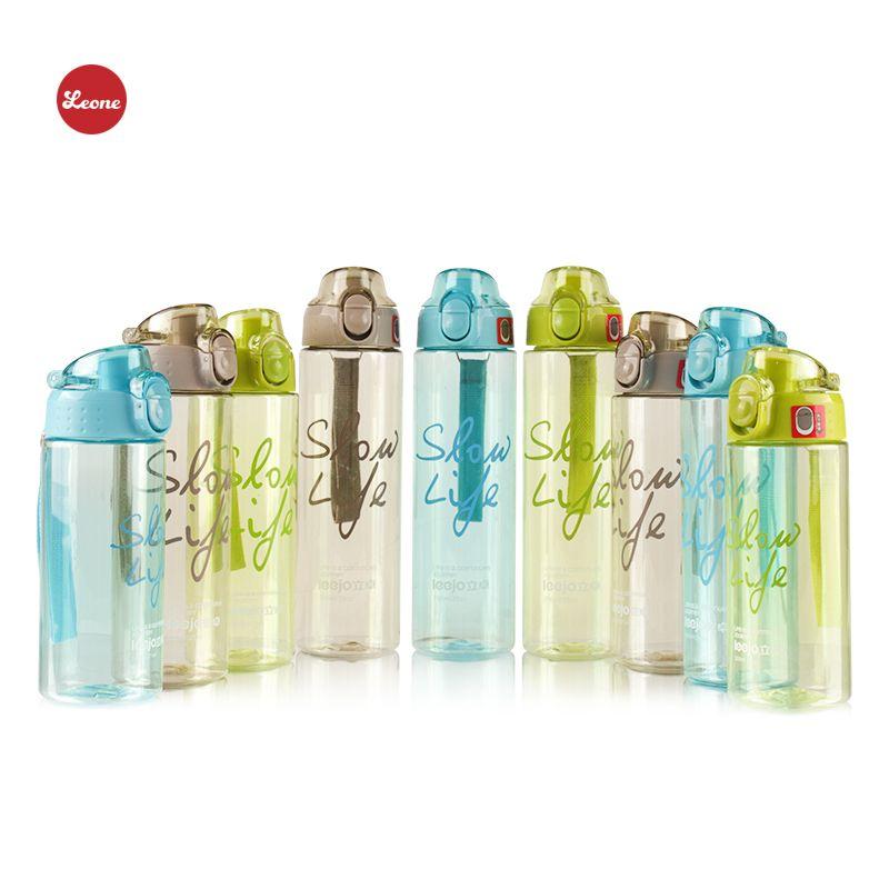 HOT Haute qualité Multi capacité Sport bouteilles d'eau Portable Transparent ma bouteille pour l'eau sport de bouilloire bouteille d'eau