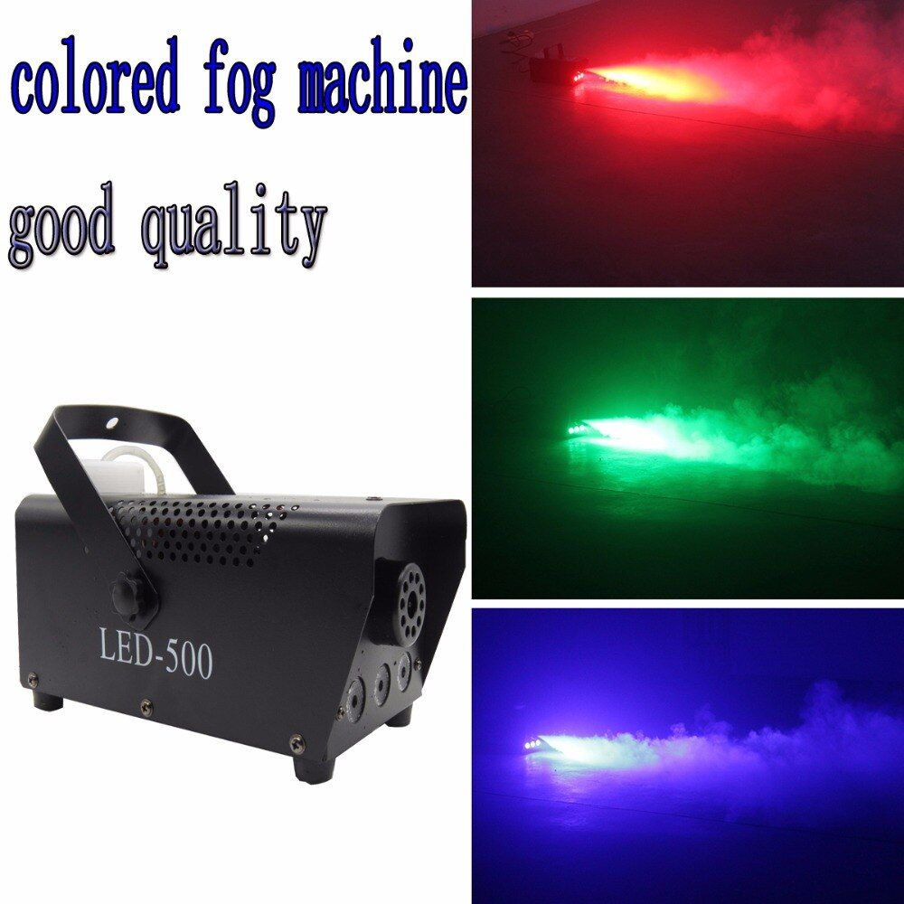 mini 400W RGB Wireless remote control fog machine pump dj disco smoke machine for party <font><b>wedding</b></font> Christmas stage fogger machine