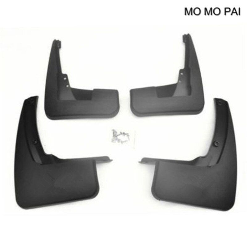 Car decoration Splash Mud Guards Mud Flaps fit for 2007-2012 Mercedes Benz GL X164 350 450 550 mudguard 4PCS MOMO PAI