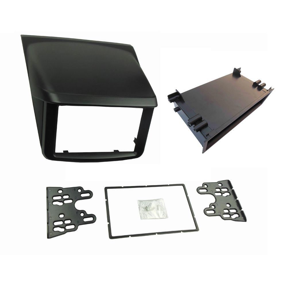 1 or 2 Din Stereo Panel for Mitsubishi Pajero Sport Triton L200 Radio DVD Dash Mounting Installation Trim Kit Face Frame Fascia