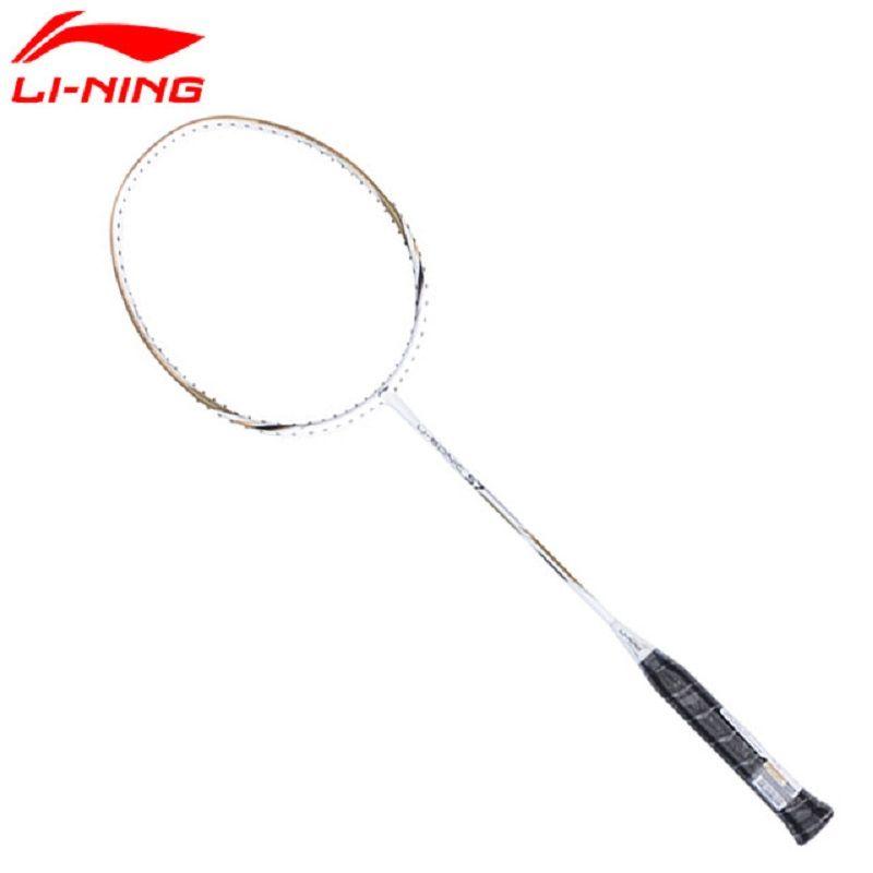 Li-Ning U-Sonic 57 Badminton Rackets Single Racket Professional Carbon Fiber LiNing Rackets AYPM232