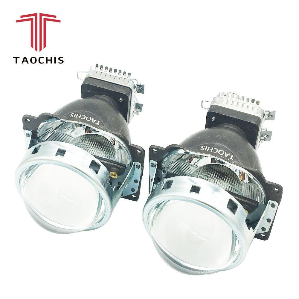TAOCHIS Q5 3.0 pouces Bi xénon projecteur lentille voiture Hid phare modifier réflecteur salut/Lo faisceau pour D2H D2S D1S D3S