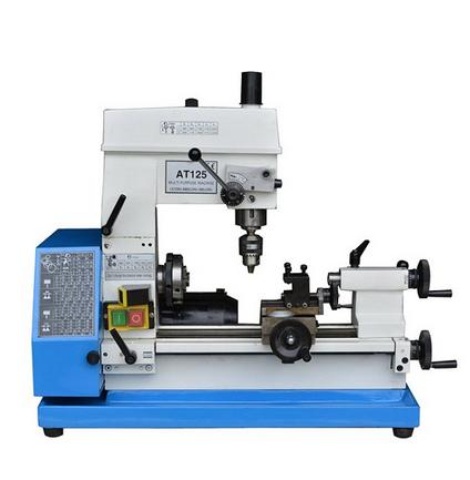 CNC lathe machine tool bench Multifunction AT125 Bench drilling machine