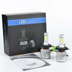 Lddczenghuitec coche LED faros bombillas H4/H7/H11/H13/9005/9006 Hi-lo beam coche LED faros 8000LM 6500 K Auto LED faro 12 V