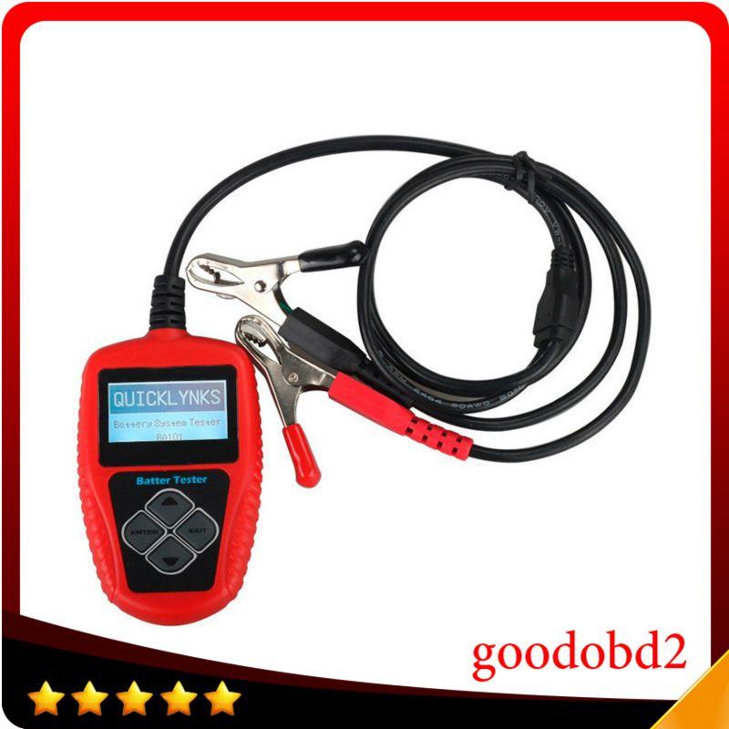 Vehicle Battery Tester BA101 Automotive 12V Vehicle Car Auto Battery Tester Analyzer 100-2000CCA 220AH