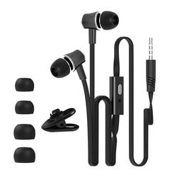 3.5 Mm In-Ear Earphone Headphone Stereo Headset Super Stereo Earbud untuk Meizu MP3 MP4 iPhone untuk Xiaomi Huawei Sony Samsung