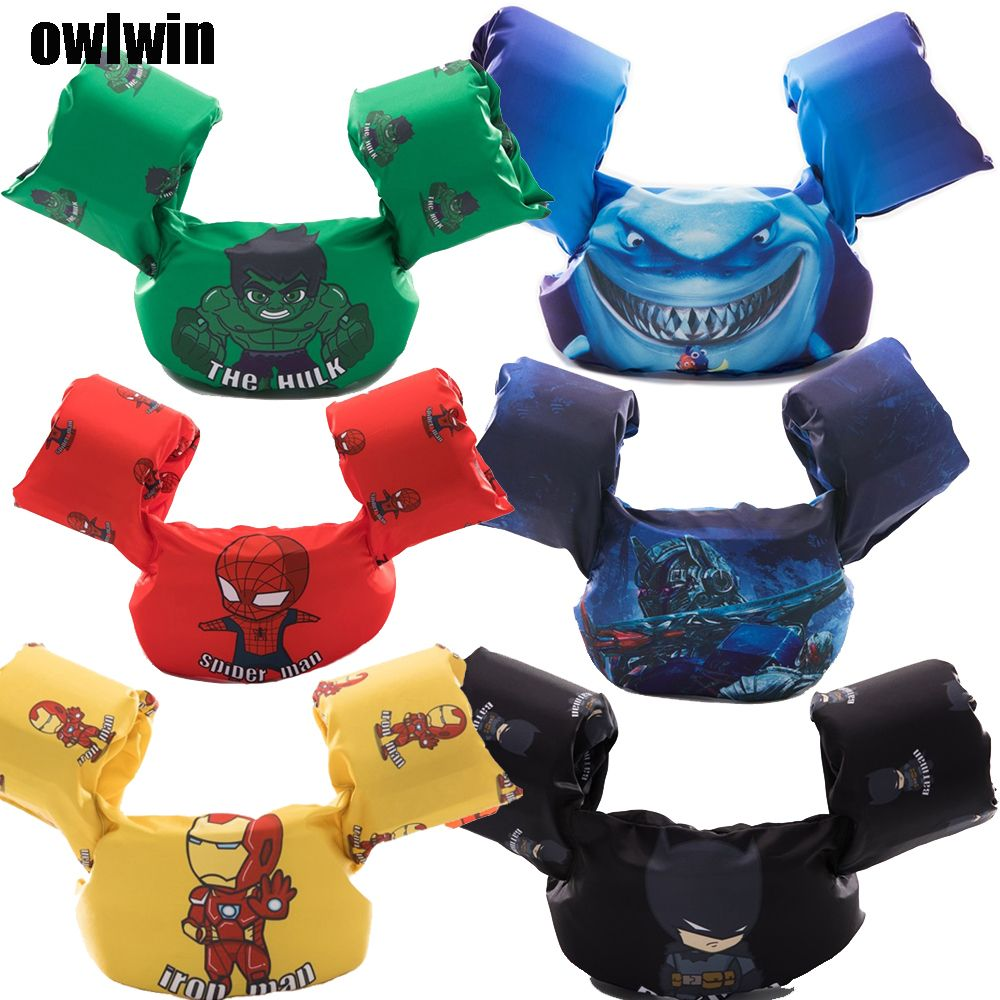 puddle jumper baby kids Arm ring life vest floats Foam safety life jacket Sleeves Armlets Swim Circle Tube Ring Swimming Rings