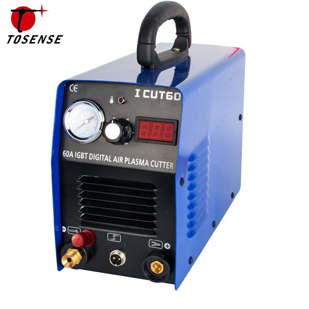 New Factory Direct Sale Plasma Cutting Machine ICUT60P 220V Single 60A IGBT With WSD60P Consumables Fit Cutting Torch Free Post