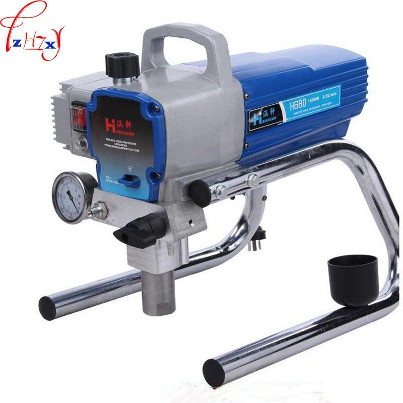 H680/H780 High Pressure Airless Spraying Machine Professional Airless Spray Gun Airless Paint Sprayer Wall spray Paint sprayer