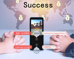 Smart Voice Translator Real Time Speech Interactive Translation For Learning Travelling Business Meeting Support 28 language
