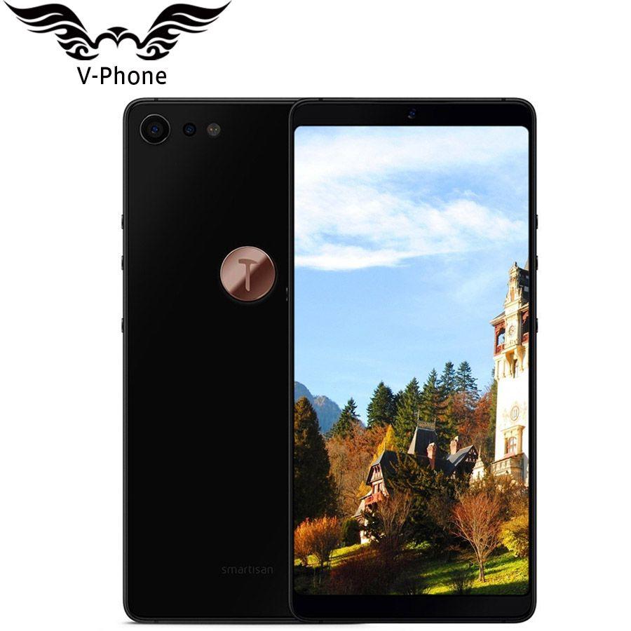 New 5.99'' 6GB 64GB Smartisan U3 pro Nut Pro 2 Mobile phone 2160 x 1080 Full Screen Snapdragon 660 Octa Core face ID Fingerprint