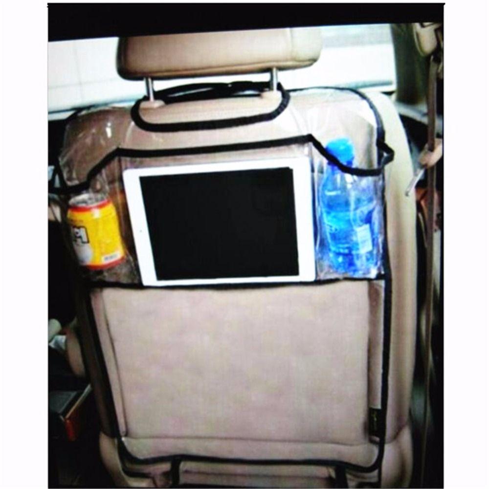 Universal Car Organizer Back seat Tablet Stand iPad Holder Car Anti Kick Storage Bag Multi-Pocket Car Phone  Drink Holder