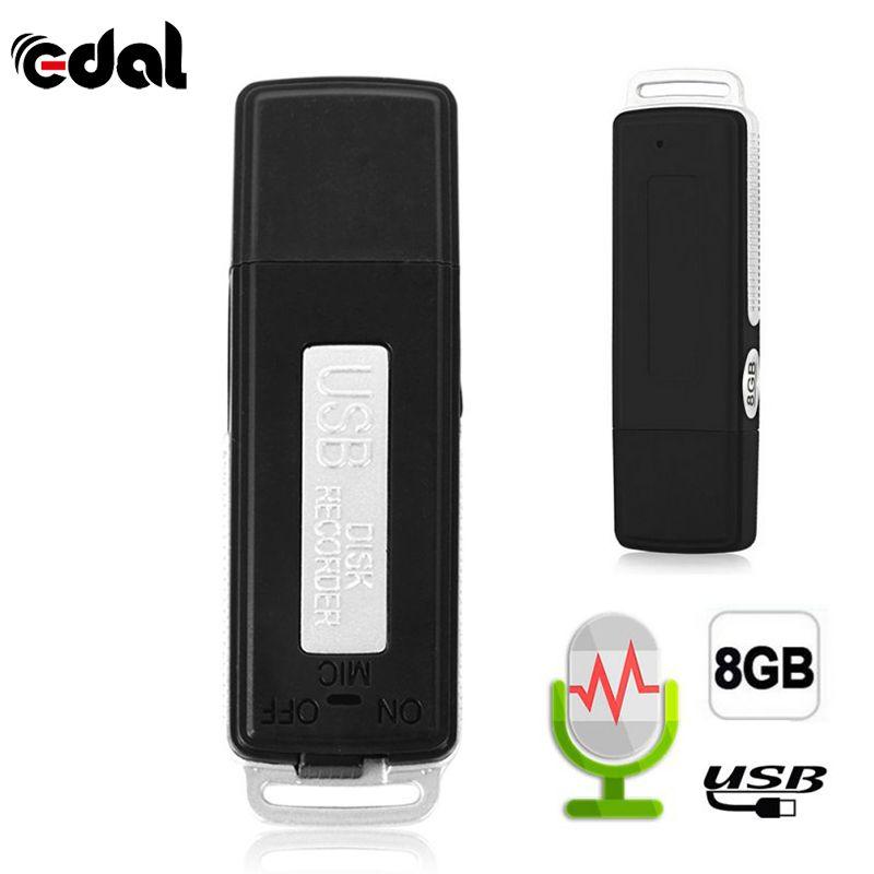EDAL 2 dans 1 Mini 8 gb USB Stylo Lecteur Flash Disk Digital Audio Enregistreur Vocal 70 Heures Portable Mini enregistrement Dictaphone