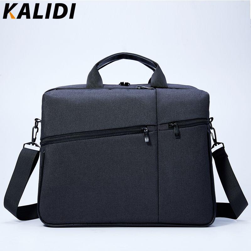 KALIDI 15.6 inch Laptop Bag Men Computer Shoulder Handbag Briefcase Notebook laptop Messenger Bag For Mackbook HP Dell 15 inch
