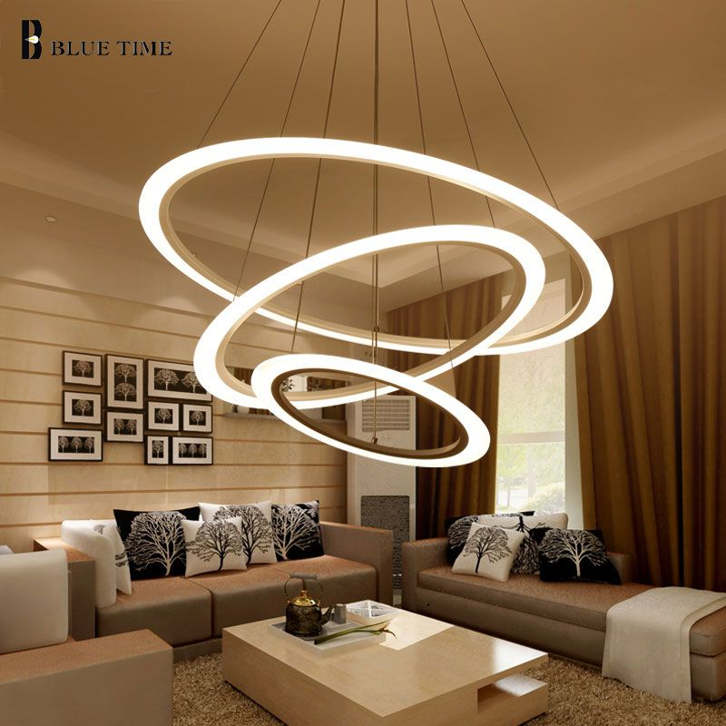 Modern Led Chandelier For Dining room Living Room Hanging Lamp Indoor Home LED Ceiling Chandelier Lighting Fixtures AC110V 220V