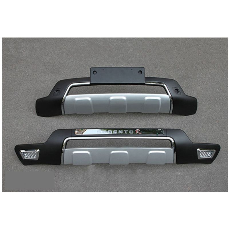 REAR GUARD SPORT TYPE BUMPER PROTECTER For KIA SORENTO 2013 - 2015 Car-styling