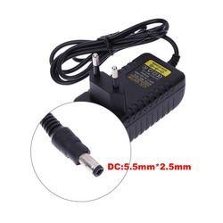 UE Plug AC 100-240 V Alimentation Convertisseur Adaptateur DC 5.5mm x 2.5 MM 5 V 1A 1000mA Chargeur