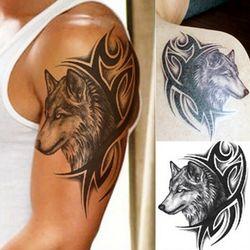 Nueva caliente transferencia de agua tatuaje falso impermeable tatuaje temporal pegatina hombres tatuaje