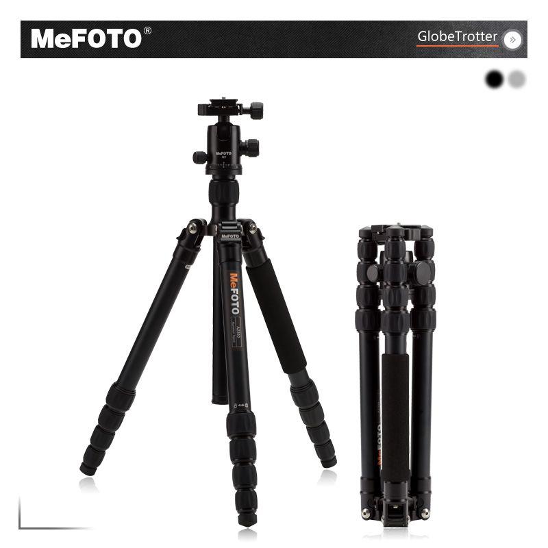 MeFOTO GlobeTrotter Tripod Kits A2350Q2 Aluminum Lightweight Heavy Duty Tripode Camera Stand Monopod Action Camera Accessories