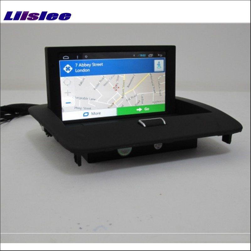 Liislee For Volvo S40 V50 C30 C70 2004~2013 Car Stereo Android GPS NAV NAVI Navigation Multimedia System W/O Radio CD DVD Player