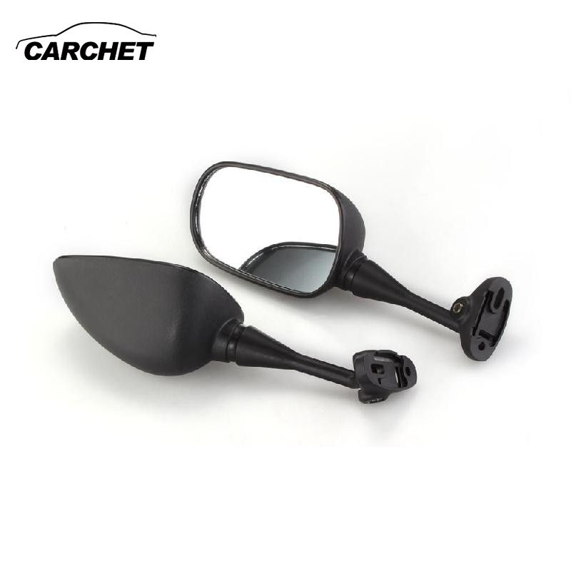 CARCHET Motorcycle Motorbike Side Mirror Left Right Side Rear View Mirror for 1999-2006 Honda CBR 600 F4 F4i RC51 RVT
