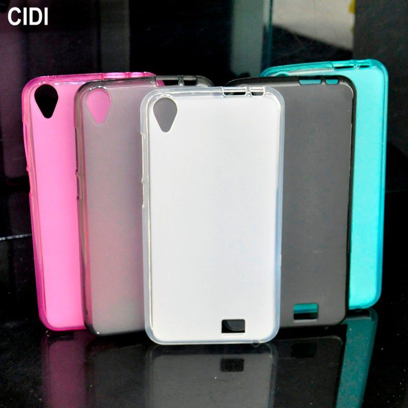 CIDI For HomTom HT16 Case Silicone Cover Soft TPU Gel Matte Protective Cover Funda Phone Cases for HomTom HT16 Pro 5inch