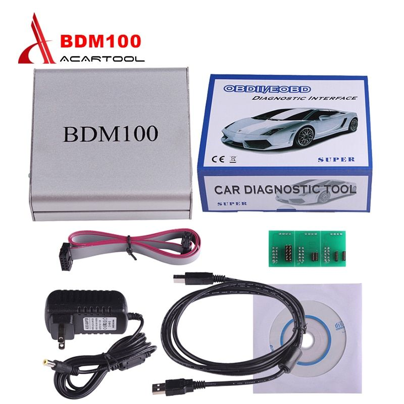 Hot Sales USB BDM 100 ECU V1255 Programmer BDM100 Code Reader Remapping Chip Tuning Diagnostic Tool