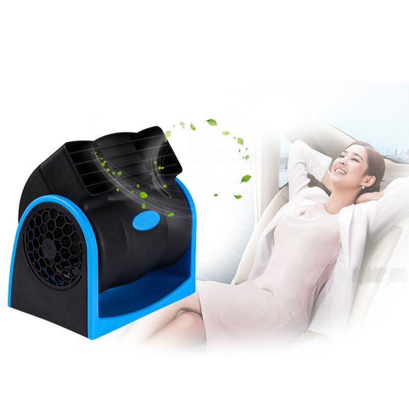 12V Portable Car Air Cooler Fan Automotive Mobiele Vehicle Ventilator Conditioner Low Noise Refrigeration Turbine Fan Radiator