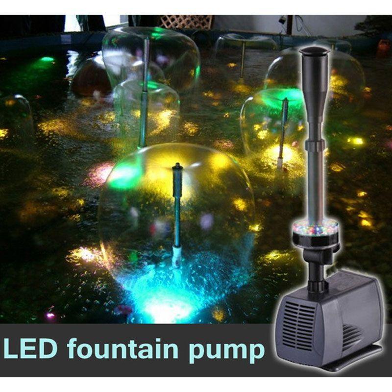 LED blinkt licht 40 W/45 W/75 W/85 W tauch wasserpumpe brunnen pumpe brunnen maker fisch teich garten pool