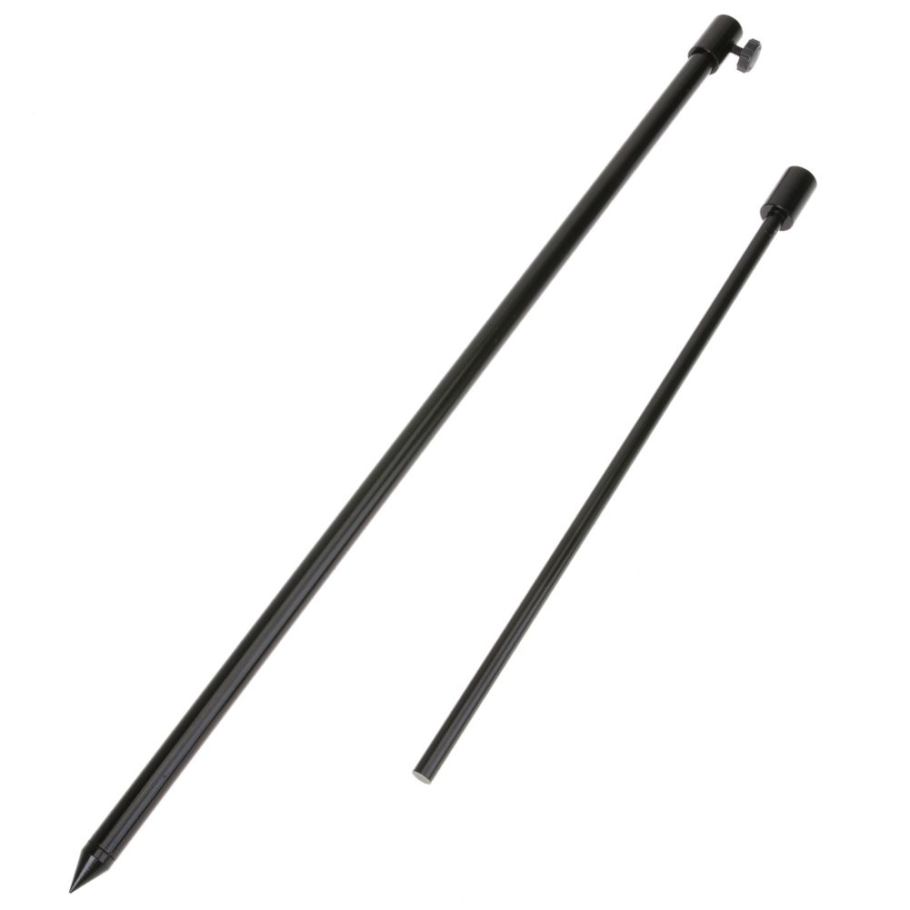 Karpfenangeln Banksticks Rod Pod 48-75 cm Starke Aliminium Banksticks Carp Grobe Angelrute Stehen Sticks Angeln pol Kit