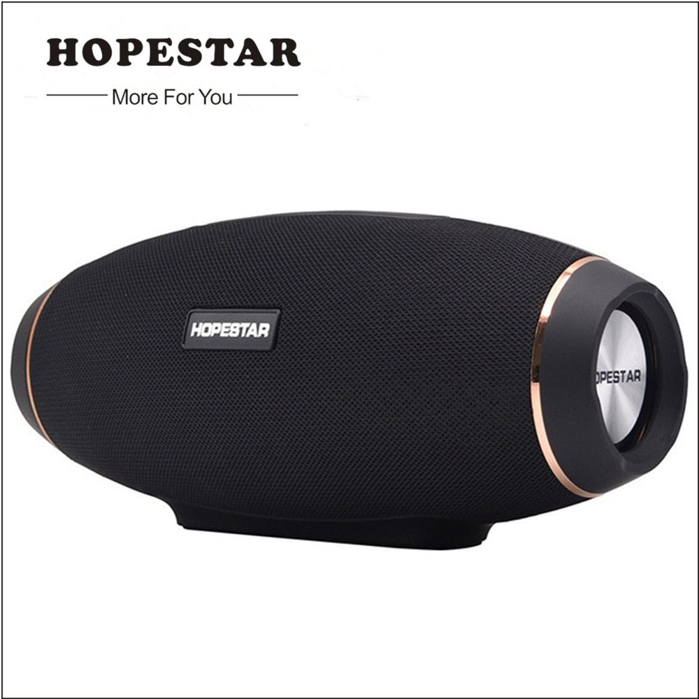 HOPESTAR IP5 Waterproof Bluetooth Speaker Wireless Speakers Subwoofer Super Bass Stereo MP3 Player Boombox with Power Bank