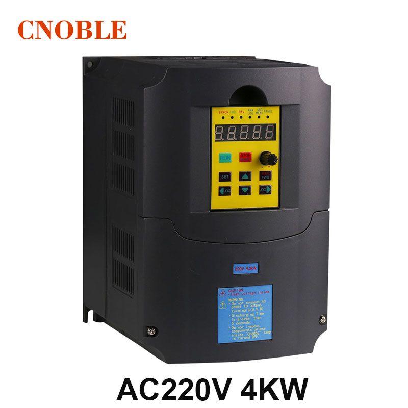 220 v 4KW Frequeny Inverter 1 Phase Eingang und 220 v 3 Phase Ausgang Frequenz Konverter/AC Motor Drive /AC Stick/VSD/VFD/50 hz